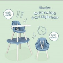 High Chair CL UR 2308 MULTI SWITCH Kursi Makan Anak