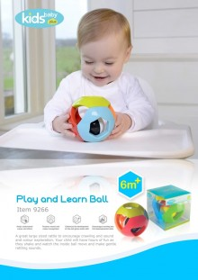 Play and Learn Ball Mainan Bola Anak Bayi