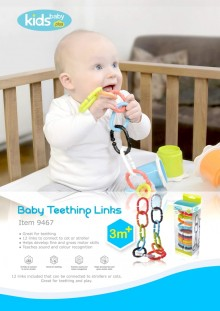 Kidsme Baby Teething Links