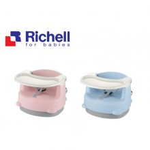 Richell 2-Position Baby Chair/ Booster seat/ Kursi makan bayi
