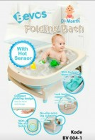 Bevos Folding Bath With Hot Sensor