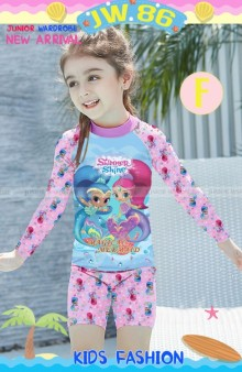 JW 86-F Baju Renang Shimmer and Shine Set