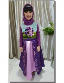 Gamis Kids Happy 35 Teen - D