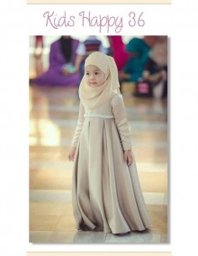 Gamis Kids Happy 36 Kids - A