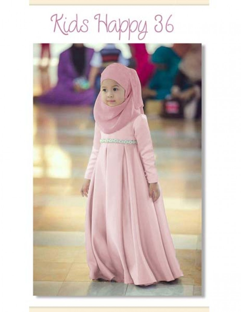 Gamis Kids Happy 36 Kids - C