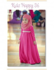 Gamis Kids Happy 36 Kids - D