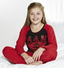 Piyama  Marks And Spencer -  Manchester United Girl Red Black