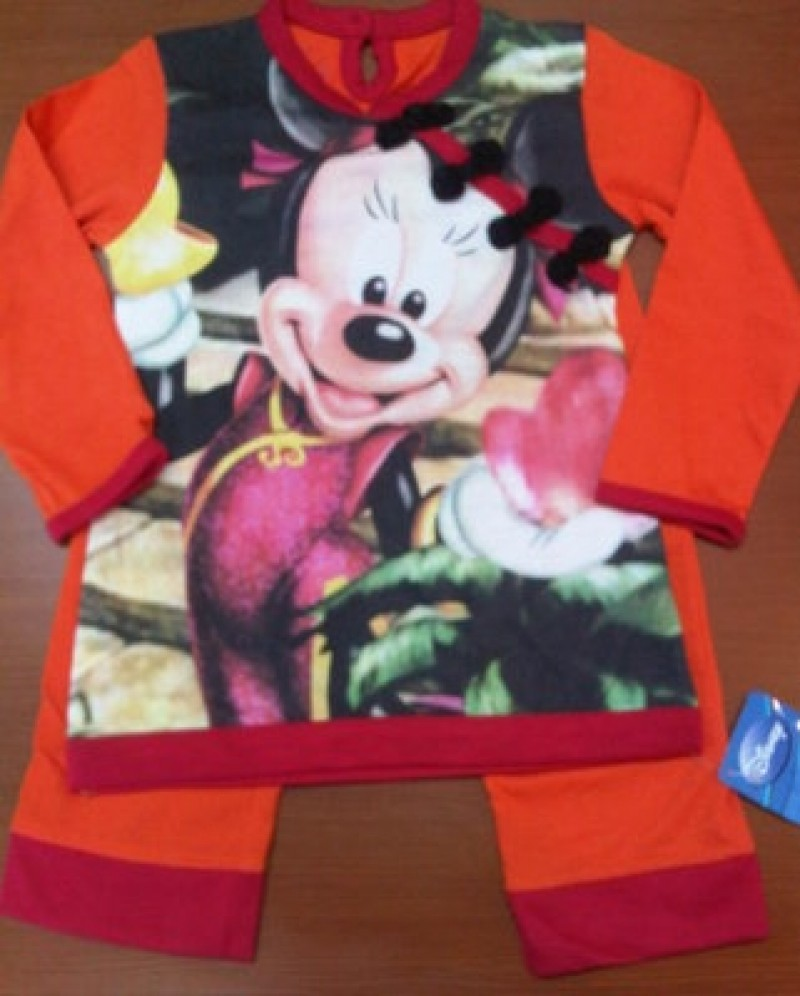 Piyama Disney - Minnie Cheongsam Orange