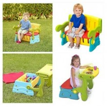 Grow n Up Sit 'n Munch Storage Bench