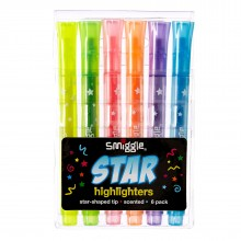 Smiggle Star Highlighters
