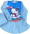 Baju Renang Muslim SD - Hello Kitty Blue (sz 7-9thn)