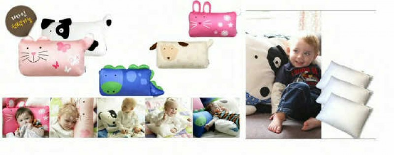 Top Baby Pillow+Pac​k Bag+Isi Small