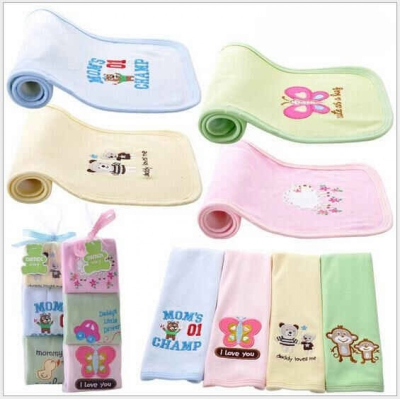 Baby Burping Clothes 3 in 1