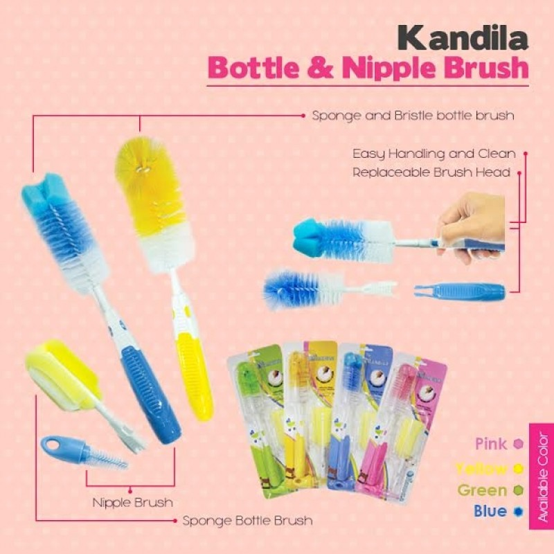 Kandila Bottle Brush 3 in 1