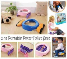 2 in 1 Portable Potty Toilet Seat