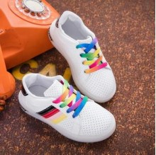 Shoes Ad*idas Rainbow Black LED ( Lampu  Warna Warni,Bukan 1 Warna )