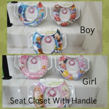 Soft Potty Seat with Handle