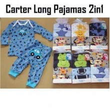 Carter Long Pajamas 2in1