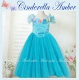 Cinderella Amber Dress Blue