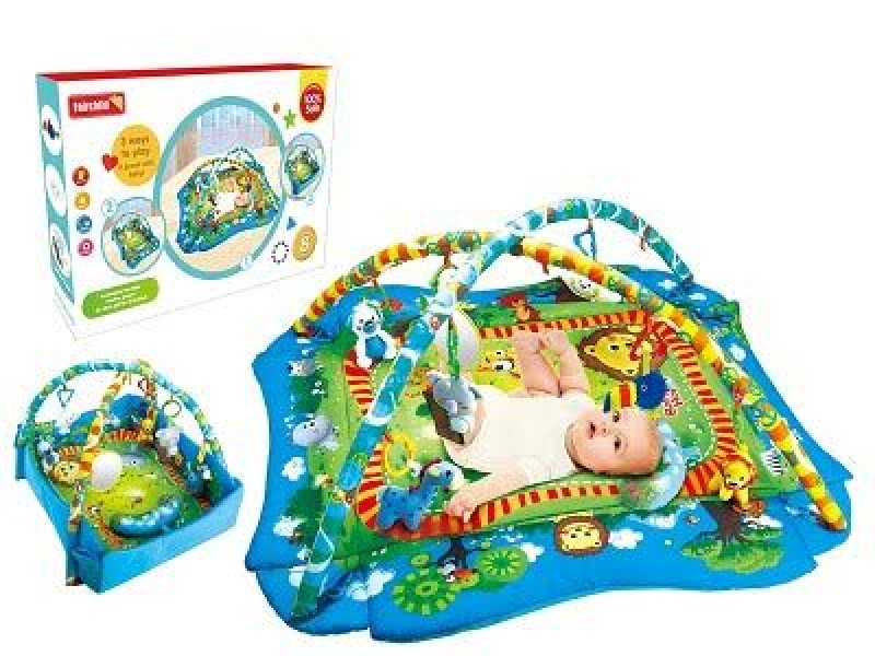 Fairchild Prime Baby Playmat - Blue Safari