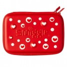 Smiggle Hard Top Pencil Case Love Red