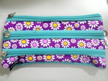 Smiggle Zipper Pencil Case Motif