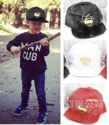 Topi Superman Kulit