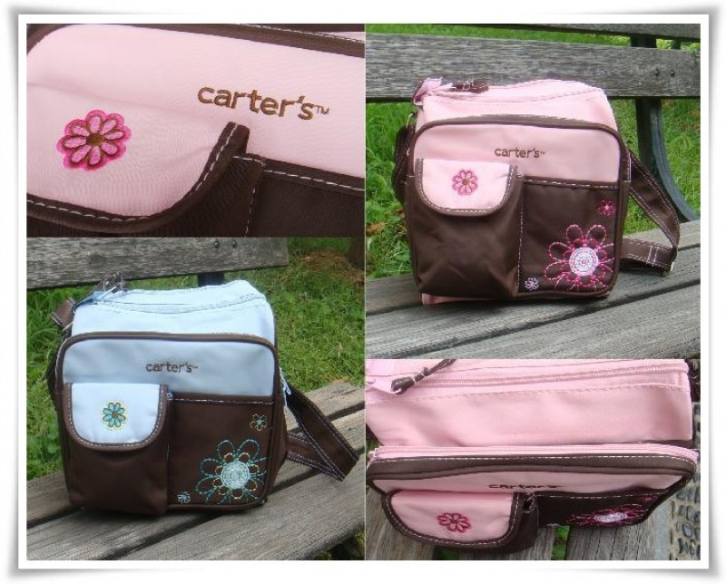 carter diaper bag mini flower