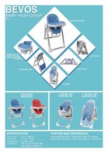 Bevos Baby High Chair P1