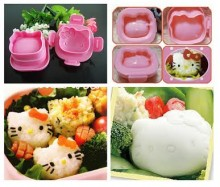 Cetakan Nasi / Telor Hello Kitty