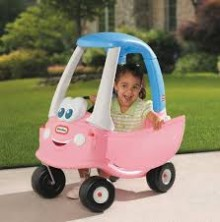 Little Tikes Cozy Coupe Mata Pink