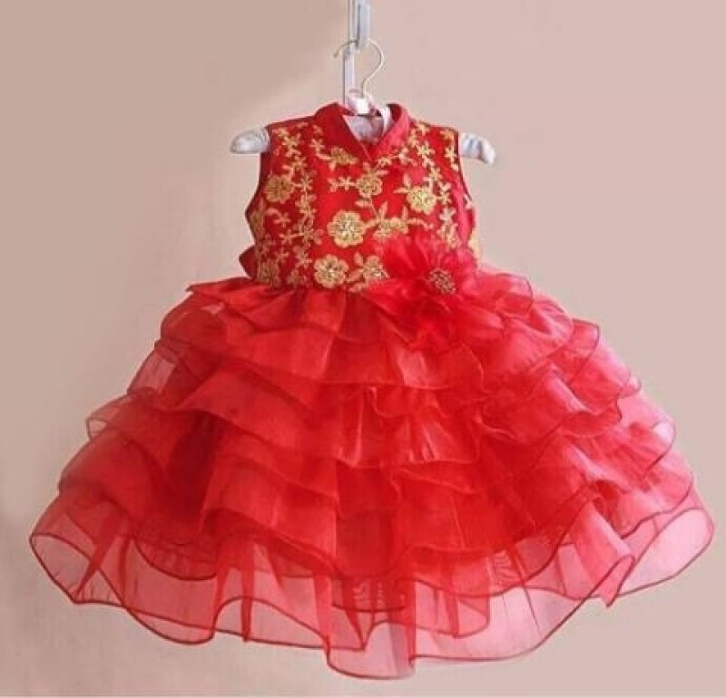 Dress Cny Red