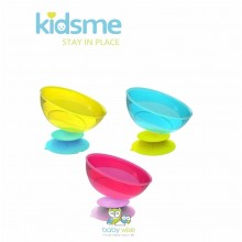 Peralatan Makan Bayi Kidsme Stay-in-Place with Bowl Set