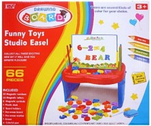 Drawing Board - Funny Toys Studio Easel