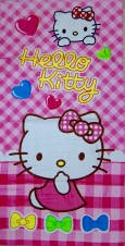 Handuk Hello Kitty Kotak - Kotak