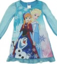 Dress Frozen Lengan Panjang