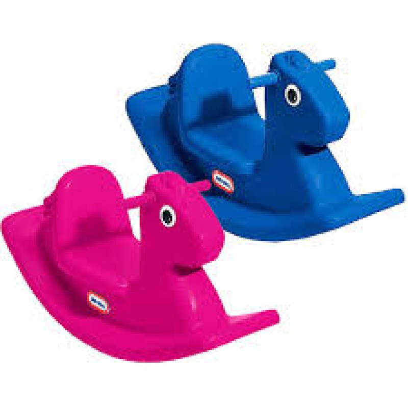 Little Tikes Horse Blue and Magenta