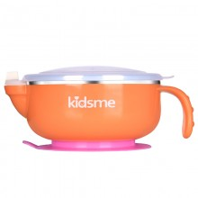 Kidsme Stainless Steel Warming Suction Bowl