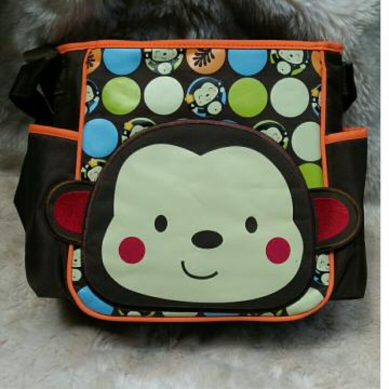 Diaper Bag Animal  Monkey