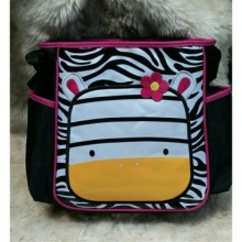 Diaper Bag Animal  Zebra