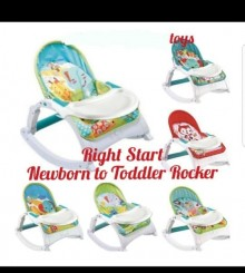 BOUNCER RIGHT STAR NEWBORN TO TODLER MUSIC PORTABLE ROCKER