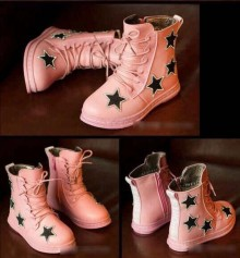 Fashion Kids - Boot Pink Star