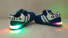 Shoes Ad*idas Baby Blue LED ( Lampu  Warna Warni,Bukan 1 Warna )