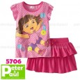 Setelan Peter & Paul - 2in1 Rok Dora