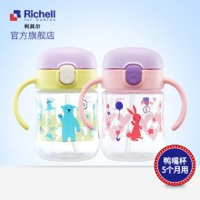 Richell T.L.I Straw Bottle