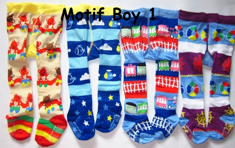 Cotton Rich Tights - Boy