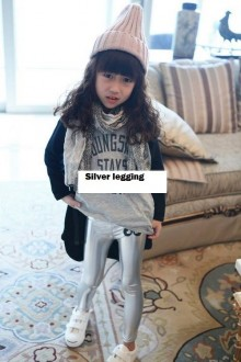 Fashion - Silver Legging