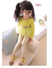 Fashion - Gold Stripe Legging