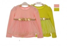 Fashion - Pink And Yellow Star Blouse