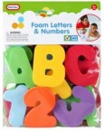 Little Tikes Foam Bath Letters and Numbers
